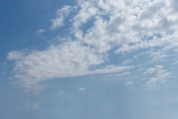 background, blue sky, clouds