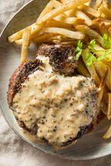 Wall Mural - Homemade Steak Au Poivre