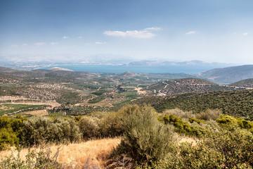 Landscape in Peloponnese, Greece