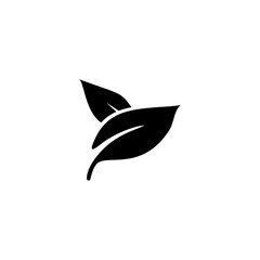 leaves simple icon