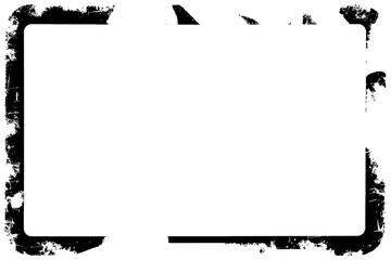 Grungy Decorative Black Photo Edge / Overlay for Landscape Photos