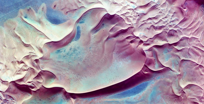 the wind and dune,  abstract photography of the deserts of Africa from the air. aerial view of desert landscapes, Genre: Abstract Naturalism, from the abstract to the figurative,contemporary photo art