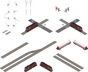 Элементы железной дороги