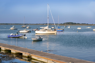 Foto op Plexiglas Poort Port of Pénerf at Damgan, a commune in the Morbihan department of Brittany in north-western France.