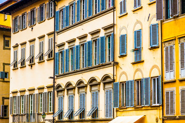 Street architecture in Florence