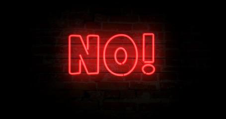 No neon sign