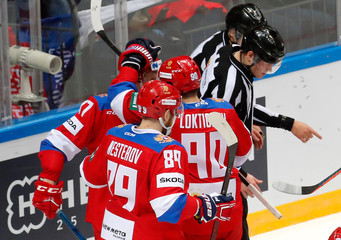 Ice Hockey - Euro Hockey Tour - Channel One Cup - Russia v Czech Republic