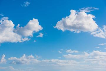 Soft clouds in winter