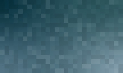 Blue transparent bricks abstract background