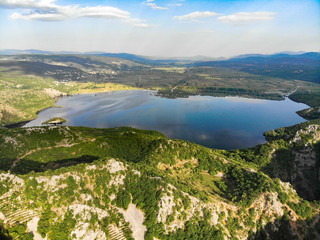 Red Lake (Crveno jezero) Blue Lake (Plavo jezero) and sourrounding lakes of Imotsko Polje, Croatia are sites of greatest landscape diversity of Europe.