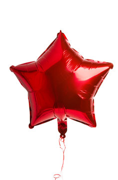 foil balloons isolated