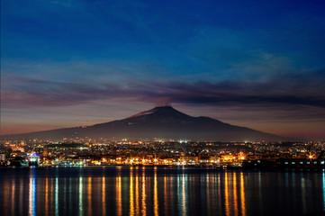 Catania and Etna Fototapete