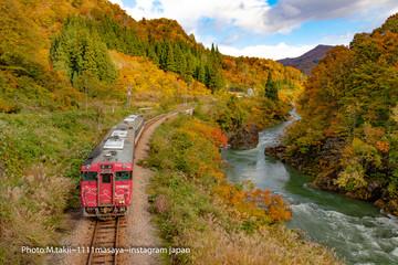 秋のローカル線