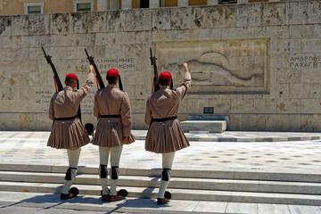 Photo sur Aluminium Athenes Garde Evzone, Athènes, Grèce