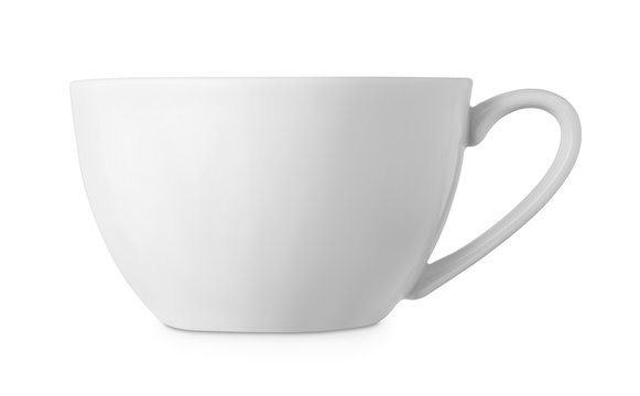 simple white cup