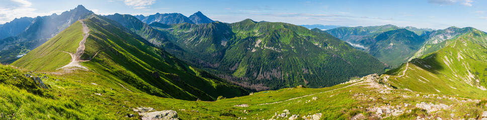 Summer Tatra Mountain, Poland Wall mural