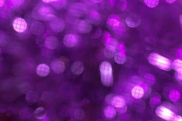 Colorful Abstract Ultra Violet bokeh background. 2019.