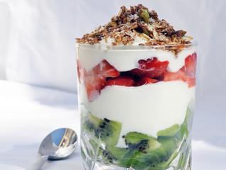 Strawberry and Kiwi Granola