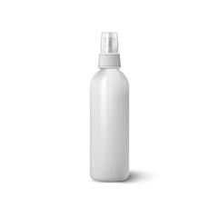 Bottle spray isolated on white background. Vector illustration.