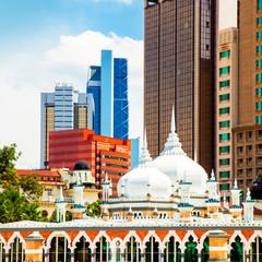 Wall Mural - Kuala Lumpur skyline photo
