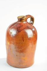 Antique Stoneware Moon Shine Jug - Corn Whiskey or White Lightening