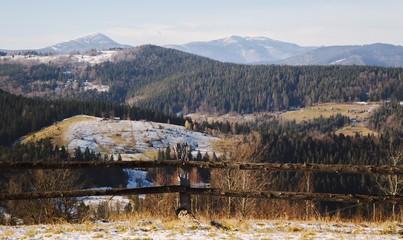 Hutsul Landscape in the Mikulichyn