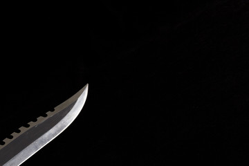 survival knife blade