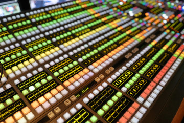 Broadcast Video Production Switcher used for live events and television production