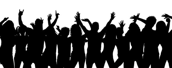 Party people together – vector