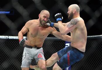 MMA: UFC Fight Night-Milwaukee-Smith vs Cummings