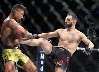 MMA: UFC Fight Night-Milwaukee-Gordon vs Silva