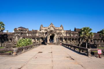 Siem reap::Angkor Wat in Cambodia world heritage site