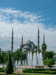 Blue mosque (Sultan ahmet mosque) in Istanbul, Turkey.