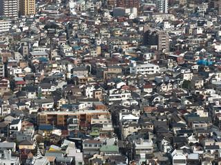 Fototapete - 東京の住宅街