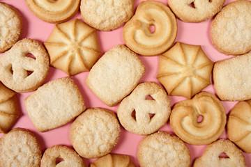 Danish butter cookies texture.