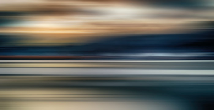 Abstract colorful light trails background, motion blur