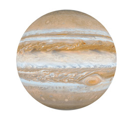 Planet Jupiter Isolated