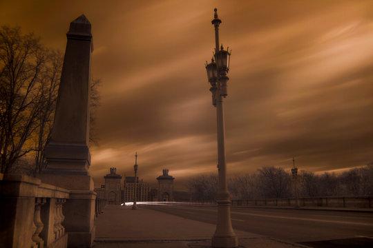 Historic Market Street Bridge Wilkes-Barre, Infrared Spectrum