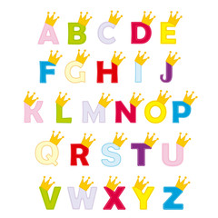 ABC for little princess and prince