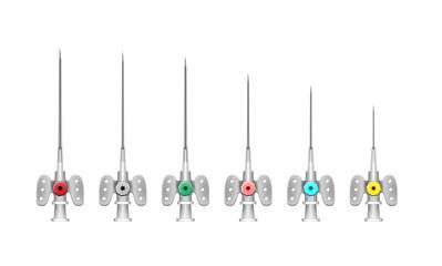 intravenous catheter. vasofix