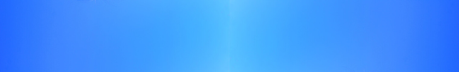 Blue Sky Empty Background and Simple Vivid Blue Color Template of Bright Light Sky with No Clouds. Simple Frame Backdrop of Gradient Blue Color, Blank Sky Wallpaper, Poster or Banner for Copy Space