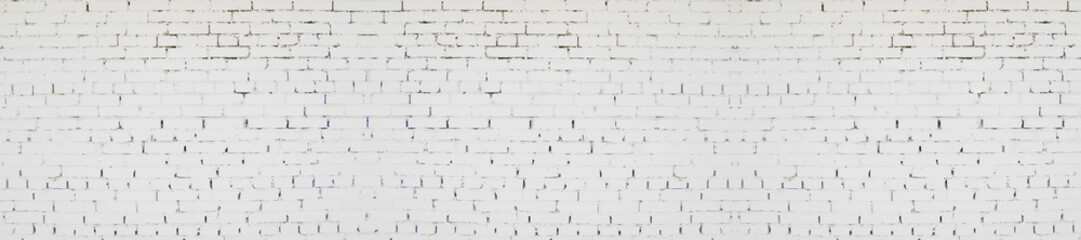 White Brick Wall Texture Background, Abstract Bright White Stone Textured Painted Wall with Cracks....