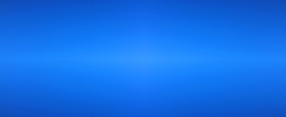 Blue Sky Empty Background and Simple Dark Blue Color Template of Bright Light Sky without Clouds. Simple Banner Backdrop of Gradient Blue Color, Blank Sky Wallpaper, Poster or Banner for Copy Space