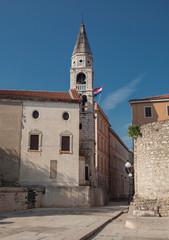 Old town in Zadar, Croatia