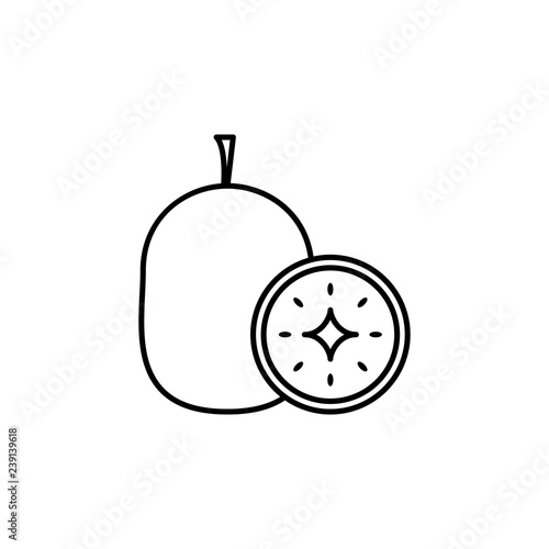 Guava Outline Images