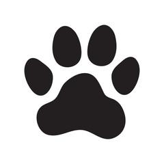 Animal's (dog's) paw print