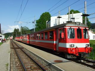 Local railway passenger rail transport in Switzerland