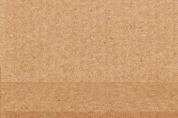 Brown paper texture background. Used for display or montage your product showcase