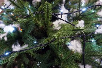 illuminated christmas tree decoration