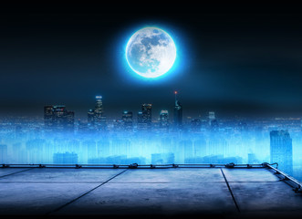 FULL MOON ROOFTOP background
